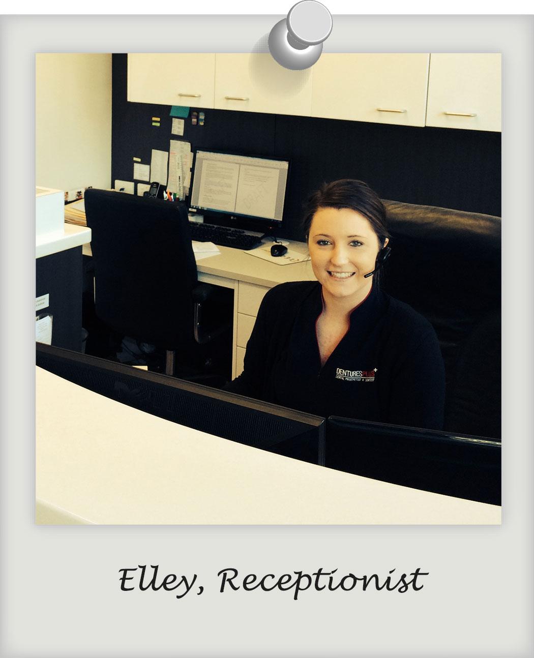 Elley-receptionist