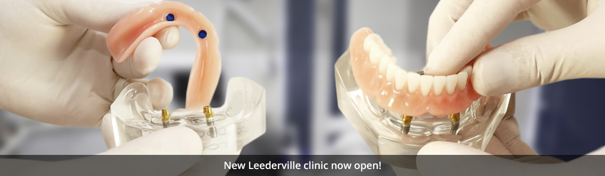Stable, secure lower dentures are possible with Denture Connect Plus. (Now at the lowest price ever)
