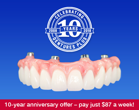 Full Arch Rehab on four dental implants (Four Under One) – special 10th anniversary special from just 16k!