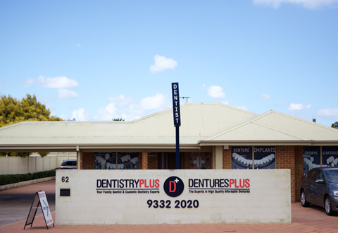 Dentures Plus denture clinic in Leeming
